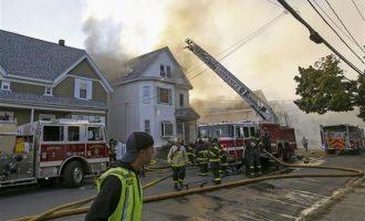 Ένας νεκρός και πολλοί τραυματίες από τις εκρήξεις φυσικού αερίου κοντά στη Βοστώνη