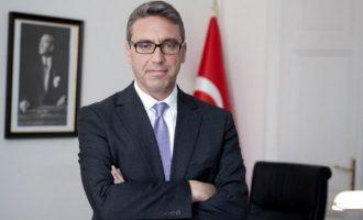 Νέο Πρέσβη στην Αθήνα στέλνουν οι Τούρκοι – Είναι «ειδικός» στο Κυπριακό