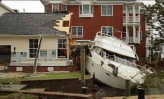 Δώδεκα οι νεκροί από τον τυφώνα Φλόρενς στις ΗΠΑ