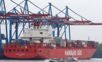 Οι Γερμανοί πλοιοκτήτες χρεοκόπησαν και τα πλοία τους τα αγοράζουν Έλληνες