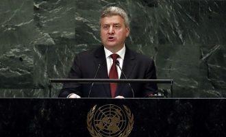 O Ιβάνοφ καλεί τους Σκοπιανούς να μποϊκοτάρουν το δημοψήφισμα της Κυριακής