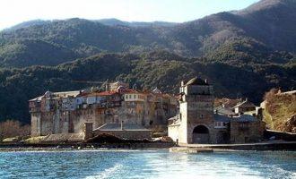 Σορός άνδρα αγνώστων στοιχείων βρέθηκε στη θάλασσα κοντά στην Ιερά Μονή Ιβήρων