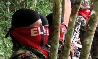 Οι αντάρτες του ELN απελευθέρωσαν έξι ομήρους στις ακτές της Κολομβίας
