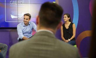 Τι υποσχέθηκε ο Μητσοτάκης σε συνάντησή του με startups στη Δ.Ε.Θ.