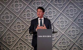 Ο Βαλς ανακοίνωσε επισήμως την υποψηφιότητά του για την δημαρχία της Βαρκελώνης