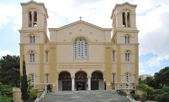 Οι «Ρουβίκωνες» έκραξαν στον Άγιο Νικόλαο στα Εξάρχεια – Εξηγούν γιατί το έκαναν