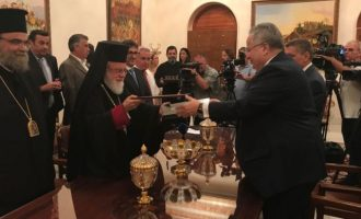Ιστορική στιγμή: Η Μονή Κύκκου παραχώρησε το οικόπεδο για την ανέγερση της νέας Ελληνικής Πρεσβείας στην Κύπρο