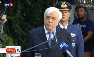 Πρ. Παυλόπουλος: «Οι γερμανικές αποζημιώσεις είναι νομικώς ενεργές και δικαστικώς επιδιώξιμες»