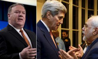 Οργή Πομπέο για τις παρασκηνιακές συναντήσεις του Τζον Κέρι με Ιρανούς αξιωματούχους