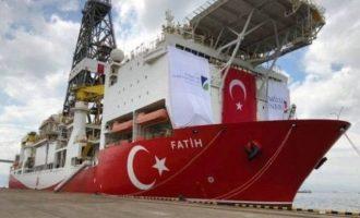 Στις 29 Οκτωβρίου η πρώτη γεώτρηση της Τουρκίας στην ανατολική Μεσόγειο
