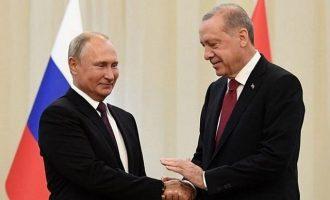 Ο ταραχοποιός Ερντογάν και το ανταγωνιστικό κόμπλεξ της Ρωσίας με την Ελλάδα