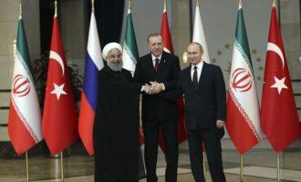 Στις 16 Σεπτεμβρίου συναντιούνται Πούτιν, Ερντογάν και Ροχανί για το Συριακό