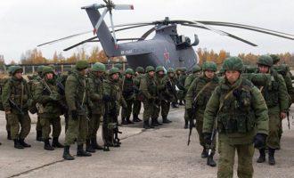 Η Ρωσία θα κάνει δύο μεγάλες στρατιωτικές ασκήσεις τη δεκαετία