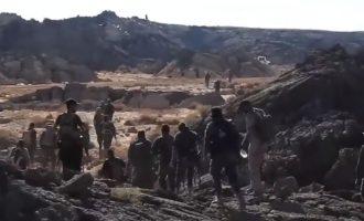 Το Ισλαμικό Κράτος κρατά γερά στο ηφαίστειο Αλ Σάφα – Συνεχίζεται η πολιορκία του (βίντεο)