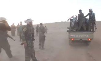 Δίχως νερό έμειναν οι τζιχαντιστές του Ισλαμικού Κράτους που πολιορκούνται στο ηφαίστειο Αλ Σάφα