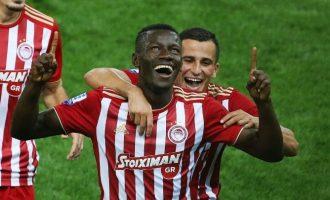Ο Ολυμπιακός υπέταξε 2-1 τον Αστέρα Τρίπολης στις καθυστερήσεις