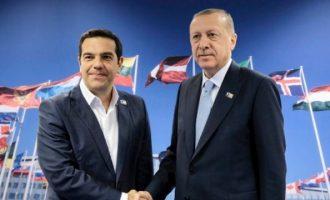Συνάντηση Τσίπρα-Ερντογάν: Τι θα πουν μακριά από τις κάμερες