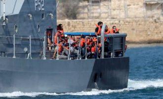 Στη Μάλτα 44 μετανάστες που αρνήθηκε να δεχθεί η Ιταλία