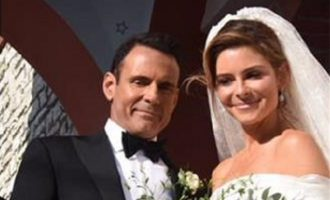 Η Μαρία Μενούνος πραγματοποίησε το όνειρό της και παντρεύτηκε στην Ελλάδα