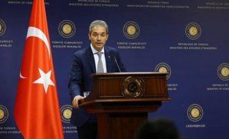 Με «σπασμένα νεύρα» στο τουρκικό ΥΠΕΞ χαρακτήρισαν την Ελλάδα «κομπλεξική»
