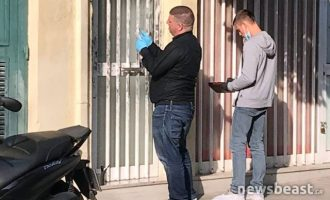 Σε αυτό το διαμέρισμα στη Νίκαια κρατούσαν φιμωμένο τον αστυνομικό (φωτο)