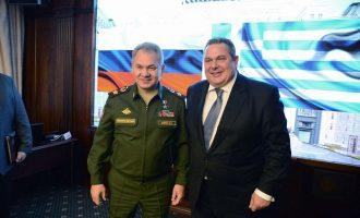 Ο Καμμένος πάλι παριστάνει τον υπουργό Εξωτερικών: «Ελλάδα και Ρωσία μοιράζονται κοινές αξίες»
