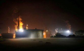 Διυλιστήριο πετρελαίου τινάχθηκε στον αέρα στη Βοσνία – Οκτώ τραυματίες (βίντεο)