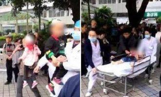 Τρόμος: Γυναίκα μπήκε σε νηπιαγωγείο και μαχαίρωνε μαθητές (βίντεο)