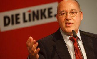 Πρόεδρος Ευρωπαϊκής Αριστεράς: Να συμφωνήσει η Γερμανία να μην περικοπούν οι συντάξεις και να επιστρέψει το αναγκαστικό δάνειο