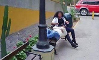 Το Street View της Google «κάρφωσε» την άπιστη σύζυγο αγκαλιά με τον εραστή της