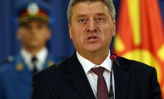 """Σκοπιανός πρόεδρος: «Δεν δέχομαι η """"Μακεδονία"""" να αλλάξει όνομα» – «Παράλογες οι απαιτήσεις της Ελλάδας»"""