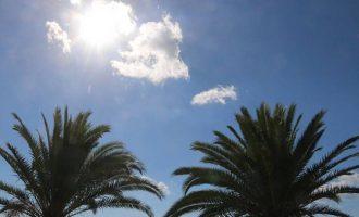 Γενικά αίθριος ο καιρός την Πέμπτη – Βροχές στα ανατολικά
