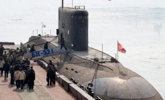 Έξι ρωσικά υποβρύχια βρίσκονται στον Εύξεινο Πόντο και στην Αν. Μεσόγειο – Ανησυχεί το ΝΑΤΟ