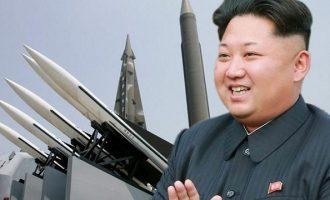 Η Βόρεια Κορέα εκτόξευσε δύο πυραύλους μικρού βεληνεκούς
