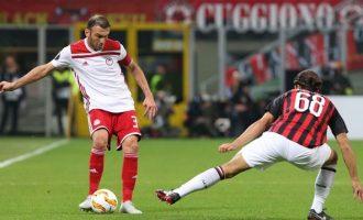 Europa league: Ο Ολυμπιακός ηττήθηκε (3-1) από τη Μίλαν