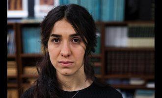 Νάντια Μουράντ: Απίστευτη τιμή και ταπεινότητα για τη βράβευσή μου με το Νόμπελ Ειρήνης