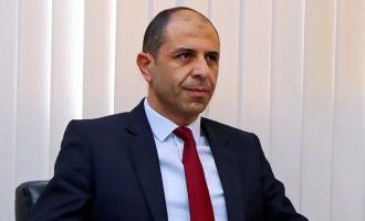 Άλλο «συνεταιρισμό» στην Κύπρο και όχι ομοσπονδία προτείνει ο κατοχικός «πρωθυπουργός» Οζερσάι