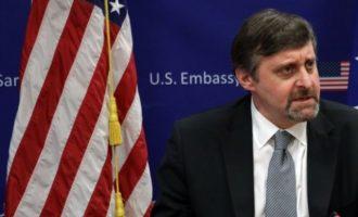 Στα Σκόπια ο αναπληρωτής ΥΠΕΞ των ΗΠΑ Μάθιου Πάλμερ