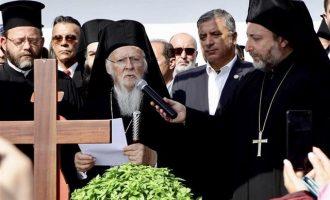 Τρισάγιο στη μνήμη των θυμάτων της λαίλαπας στο Μάτι τέλεσε ο Οικ. Πατριάρχης Βαρθολομαίος