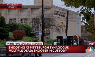 Τουλάχιστον οκτώ νεκροί και δώδεκα τραυματίες από την επίθεση στη συναγωγή του Πίτσμπουργκ