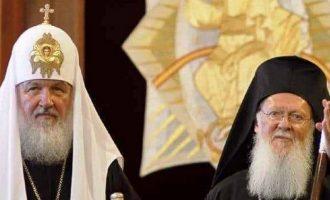Τι λένε τα ρωσικά ΜΜΕ για το ρήγμα της Ρωσικής Ορθόδοξης Εκκλησίας με το Οικουμενικό Πατριαρχείο