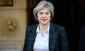 Μέι: Δεν υπάρχει περίπτωση δεύτερου δημοψηφίσματος για το Brexit