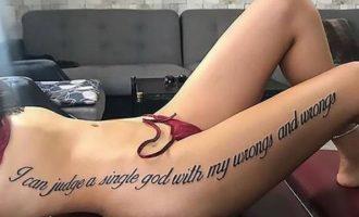 Τουρκία: Μοντέλο χτύπησε τατουάζ αλλά… χάθηκε στη μετάφραση (φωτο)