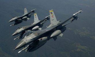 Οι Τούρκοι παραβίασαν δεκάδες φορές το Αιγαίο την Πέμπτη