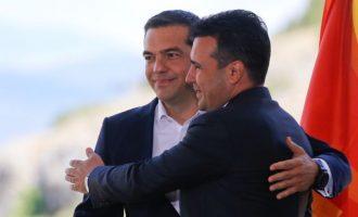 Οι δημοκρατικές δυνάμεις της Ευρώπης προτείνουν Τσίπρα και Ζάεφ για το Νόμπελ Ειρήνης