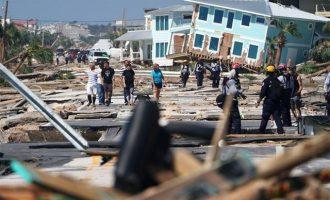 Ο φονικός τυφώνας Μάικλ «έλιωσε» τα πάντα στη Φλόριντα – Συναγερμός και σε άλλες πολιτείες στις ΗΠΑ