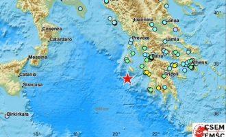 Στη 01.54 τα ξημερώματα ισχυρός σεισμός 6,4 Ρίχτερ τράνταξε τη Ζάκυνθο