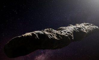 Είναι εξωγήινο διαστημόπλοιο το περίεργο διαστημικό αντικείμενο «Oumuamua»