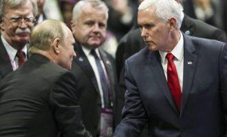 Πούτιν σε Πενς: Το Κρεμλίνο δεν είχε ανάμειξη στις εκλογές του 2016