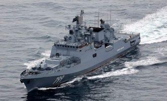 Η Ρωσία ενισχύσει τον στόλο της στην Ανατολική Μεσόγειο – Στέλνει και τη φρεγάτα «Ναύαρχος Μακάροφ»